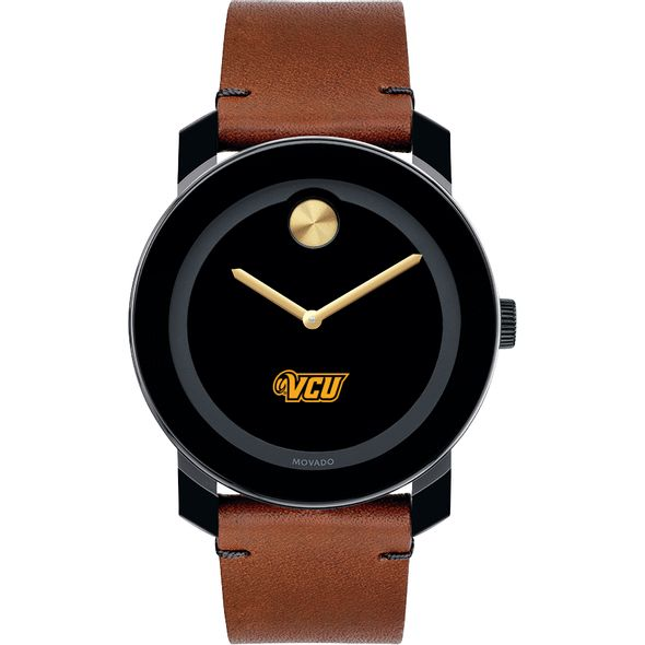 Virginia Commonwealth University Men's Movado BOLD with Brown Leather Strap - Image 2