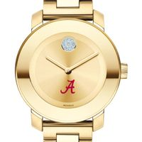 University of Alabama Women's Movado Gold Bold