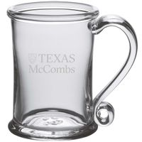 Texas McCombs Glass Tankard by Simon Pearce