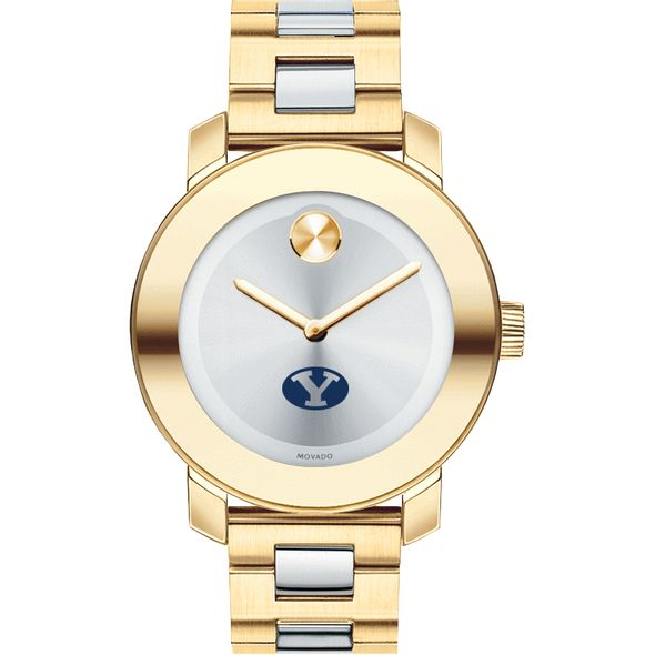 Brigham Young University Women's Movado Two-Tone Bold - Image 2