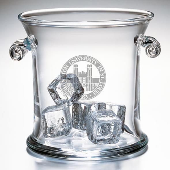 WUSTL Glass Ice Bucket by Simon Pearce - Image 2