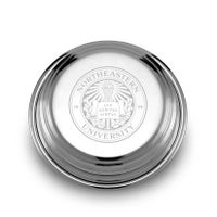 Northeastern Pewter Paperweight