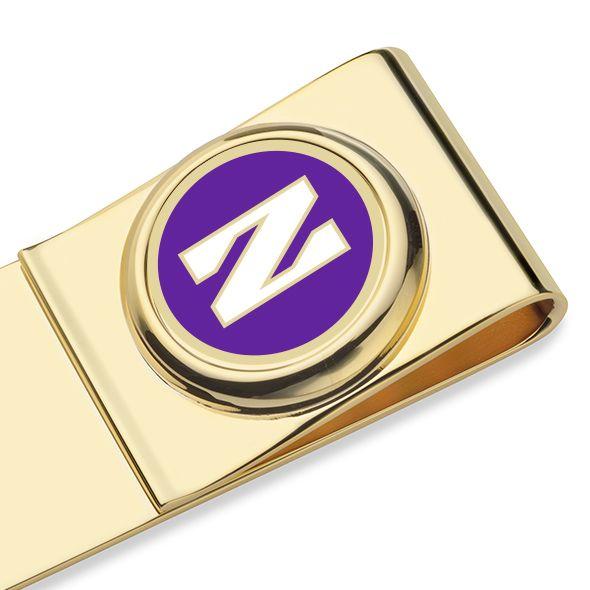 Northwestern University Enamel Money Clip - Image 2
