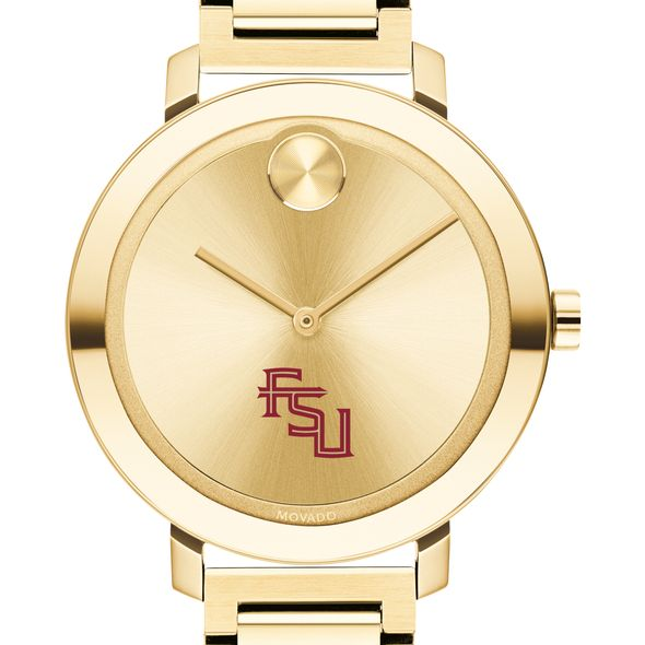 Florida State University Women's Movado Gold Bold 34