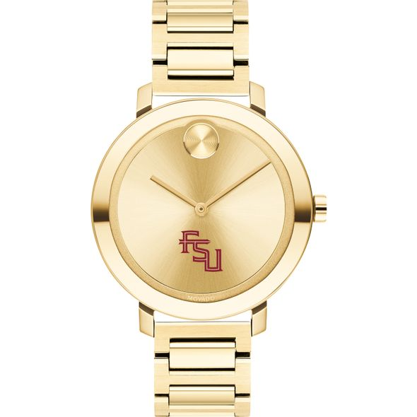 Florida State University Women's Movado Gold Bold 34 - Image 2