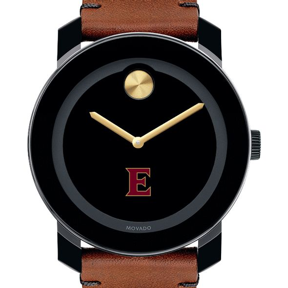 Elon Men's Movado BOLD with Brown Leather Strap