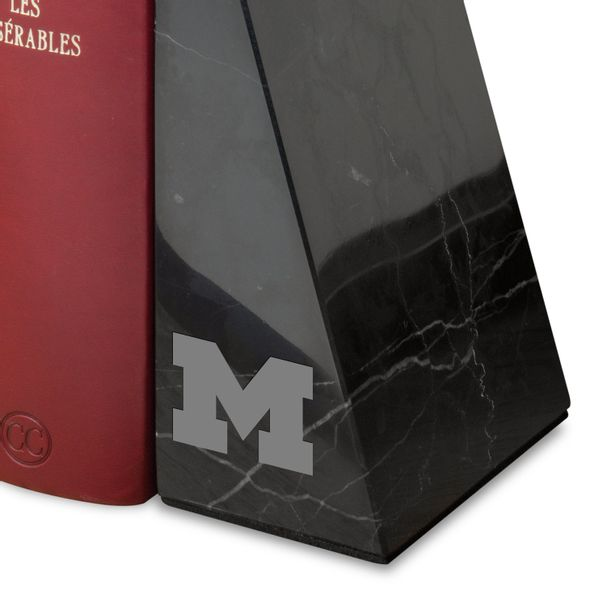 University of Michigan Marble Bookends by M.LaHart - Image 2