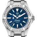 Loyola Women's TAG Heuer 35mm Steel Aquaracer with Blue Dial - Image 1