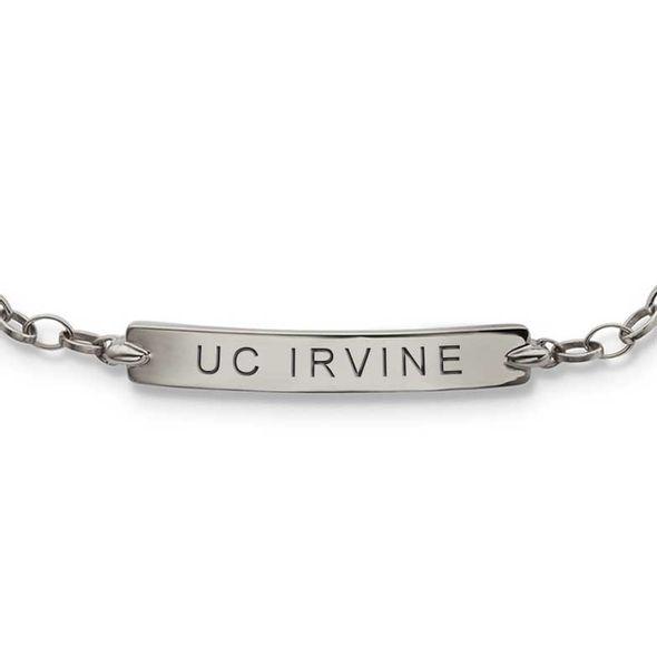 UC Irvine Monica Rich Kosann Petite Poesy Bracelet in Silver - Image 2