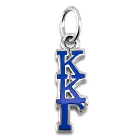 Kappa Kappa Gamma Greek Letter Charm - Image 1