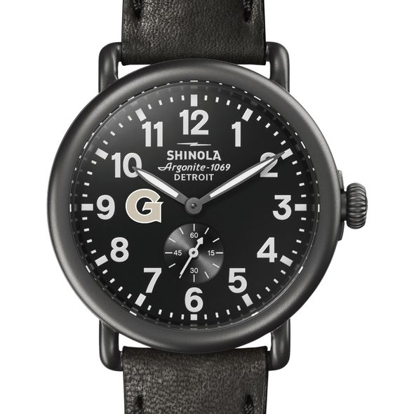 Georgetown Shinola Watch, The Runwell 41mm Black Dial