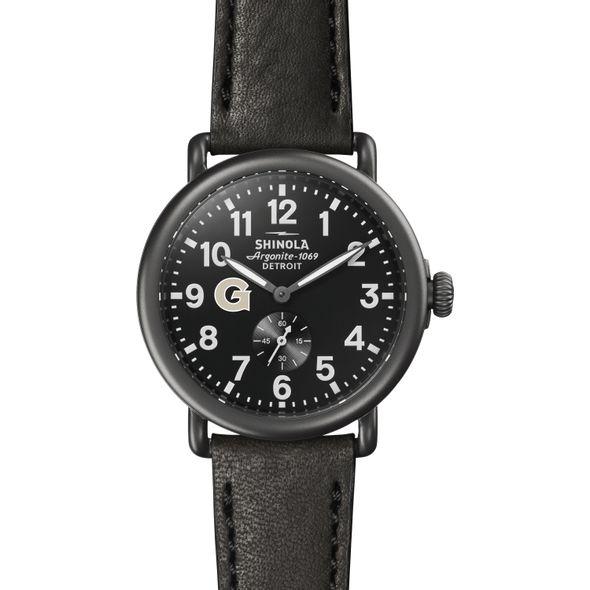 Georgetown Shinola Watch, The Runwell 41mm Black Dial - Image 2