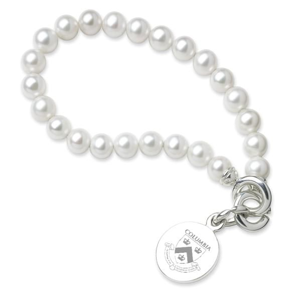 Columbia Pearl Bracelet with Sterling Silver Charm