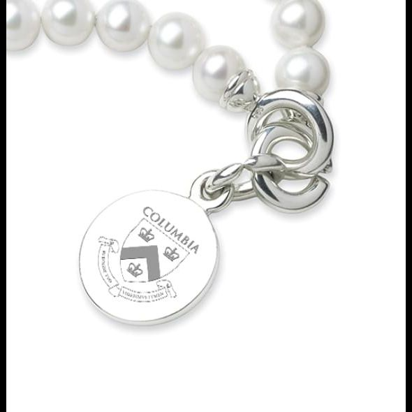 Columbia Pearl Bracelet with Sterling Silver Charm - Image 2