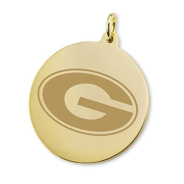 Georgia 18K Gold Charm