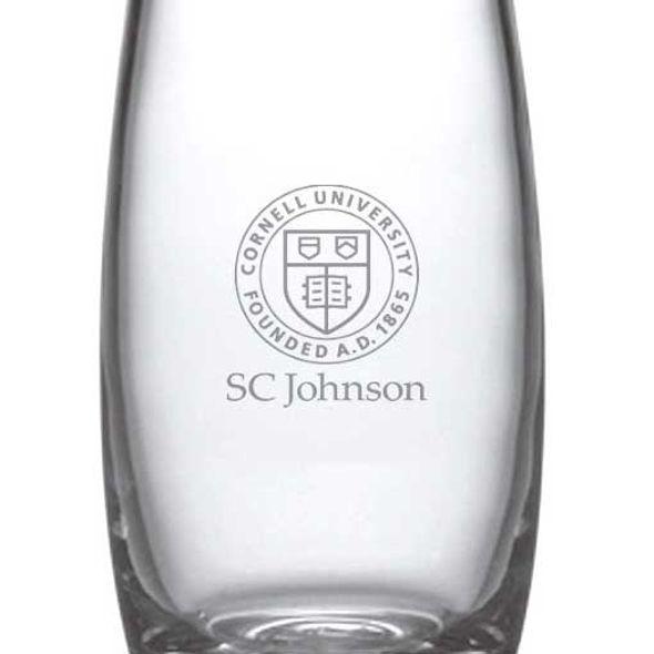 SC Johnson College Glass Addison Vase by Simon Pearce - Image 2