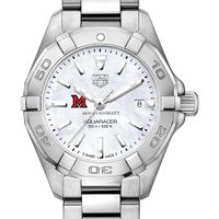 Miami University Women's TAG Heuer Steel Aquaracer w MOP Dial