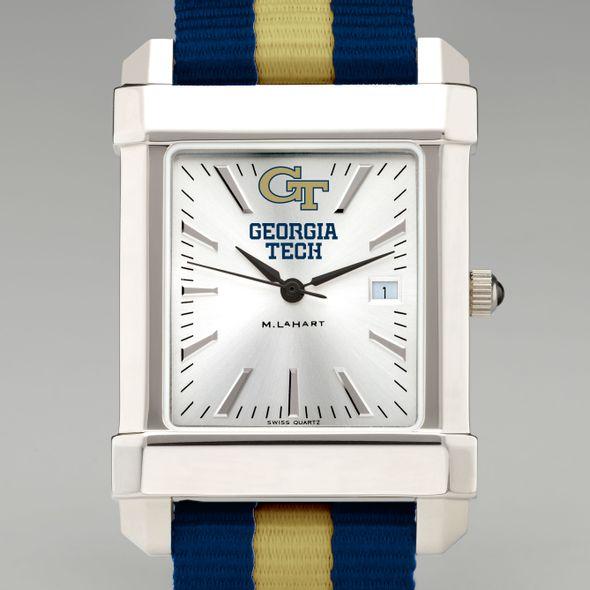 Georgia Tech Collegiate Watch with NATO Strap for Men