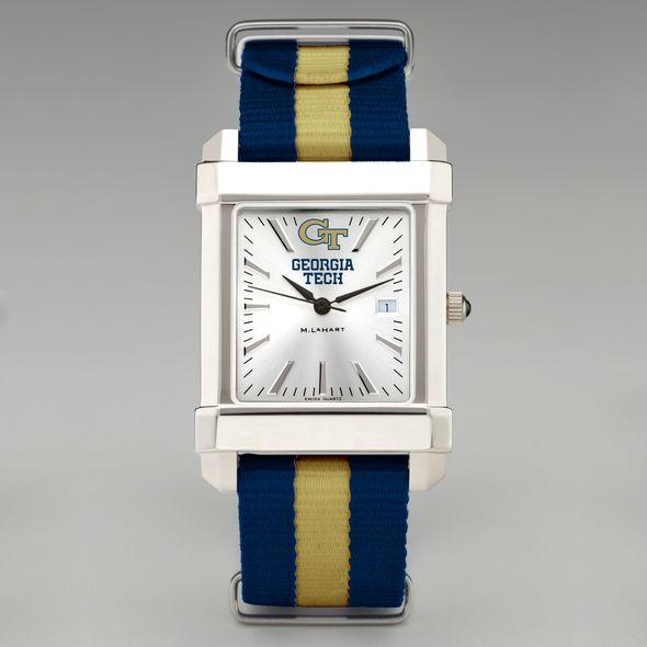 Georgia Tech Collegiate Watch with NATO Strap for Men - Image 2
