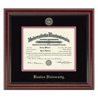 Boston University Diploma Frame, the Fidelitas