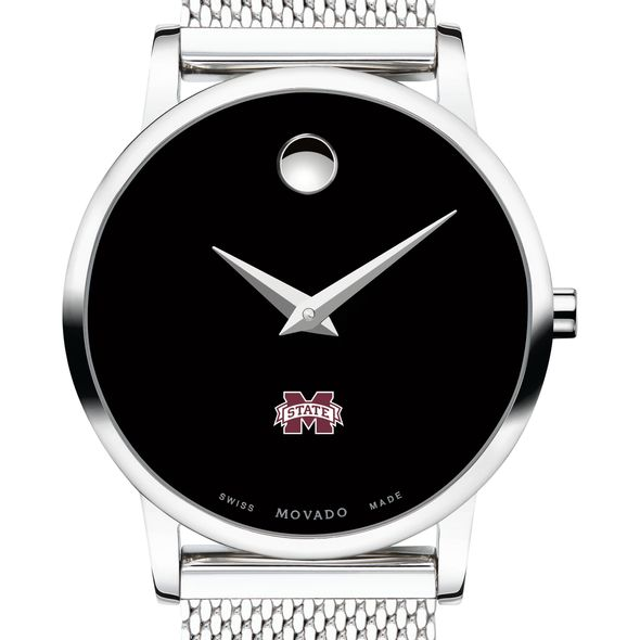 Mississippi State Women's Movado Museum with Mesh Bracelet