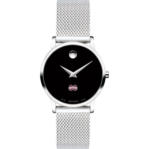 Mississippi State Women's Movado Museum with Mesh Bracelet - Image 2