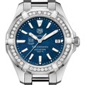 Yale Women's TAG Heuer 35mm Steel Aquaracer with Blue Dial - Image 1