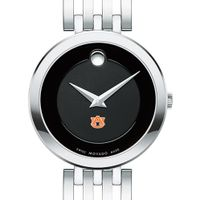 Auburn University Women's Movado Esparanza Stainless Steel Museum with Bracelet