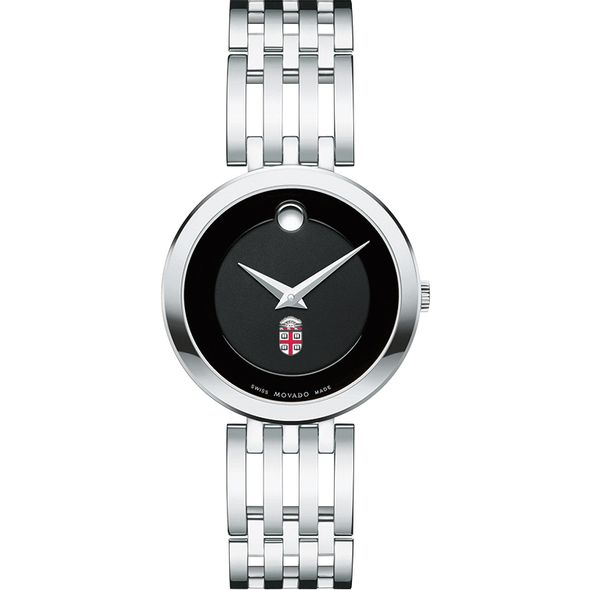 Brown University Women's Movado Esparanza Stainless Steel Museum with Bracelet - Image 2