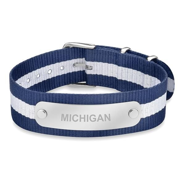 University of Michigan NATO ID Bracelet