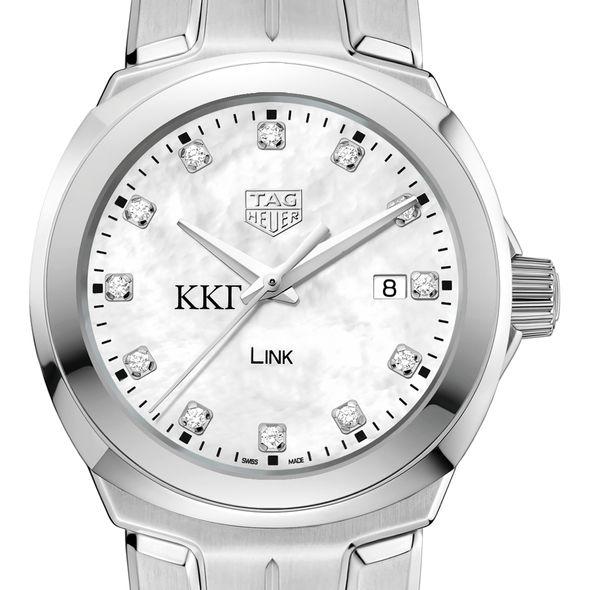 Kappa Kappa Gamma TAG Heuer Diamond Dial LINK for Women - Image 1