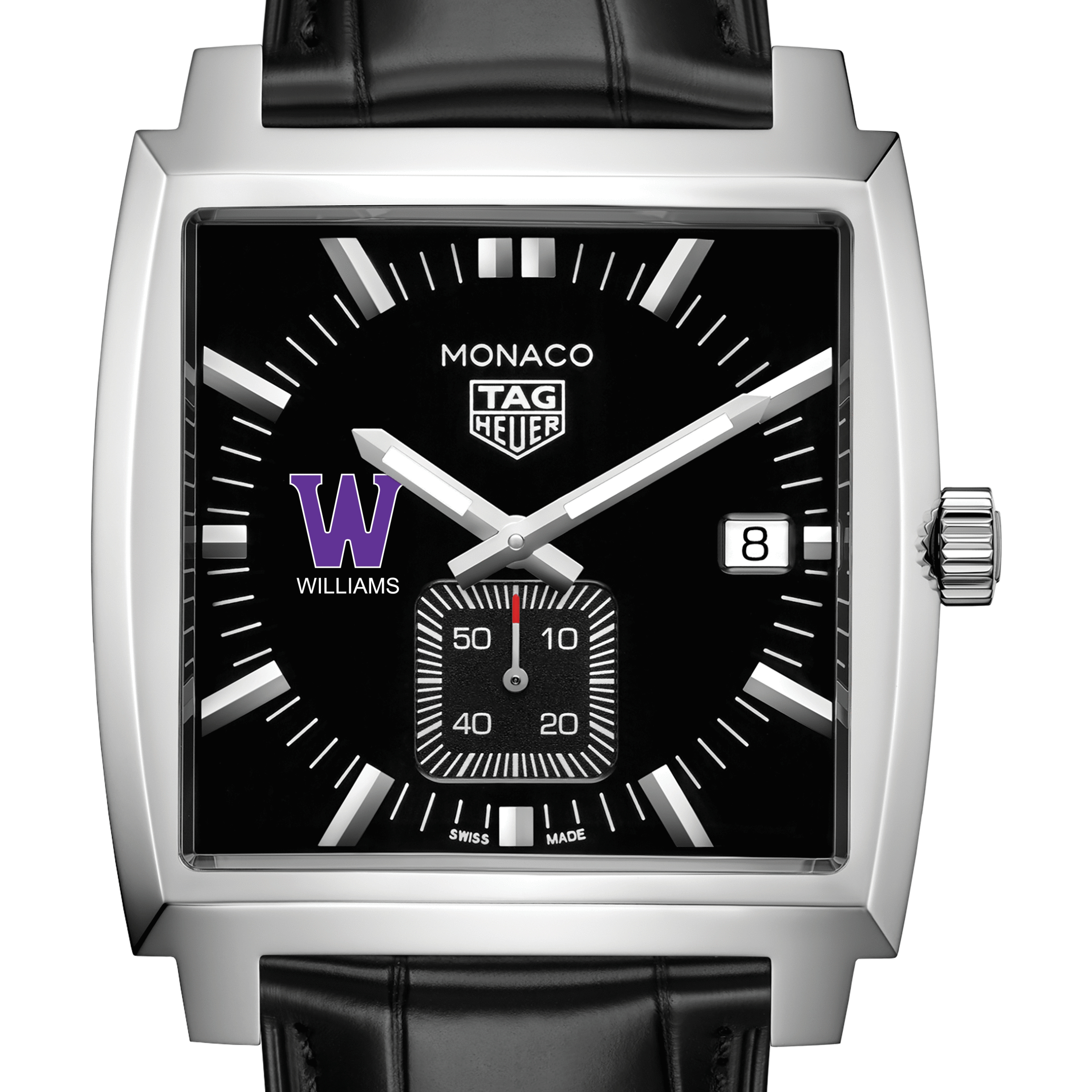 Williams College TAG Heuer Monaco with Quartz Movement for Men - Image 1