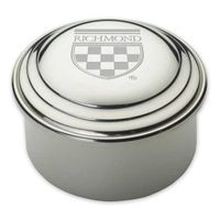 University of Richmond Pewter Keepsake Box