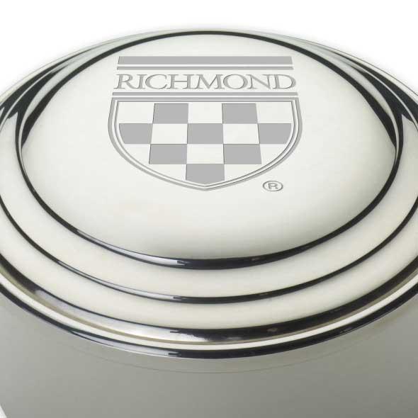 University of Richmond Pewter Keepsake Box - Image 2