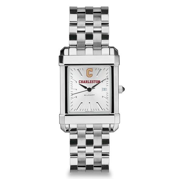 College of Charleston Men's Collegiate Watch w/ Bracelet - Image 2
