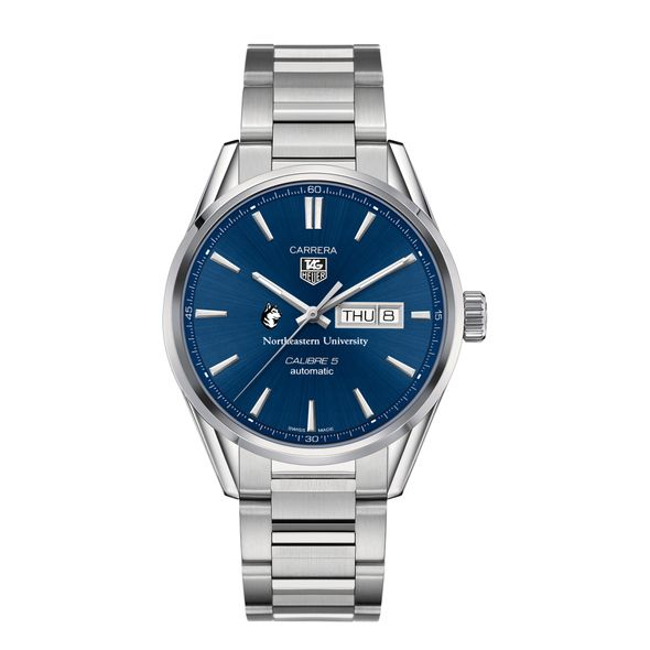 Northeastern Men's TAG Heuer Carrera with Day-Date - Image 2