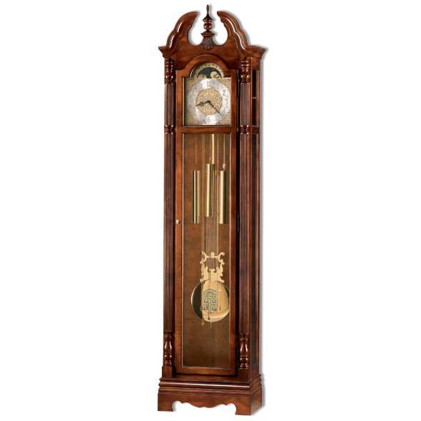 Brown Howard Miller Grandfather Clock