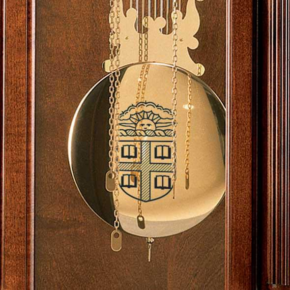 Brown Howard Miller Grandfather Clock - Image 2