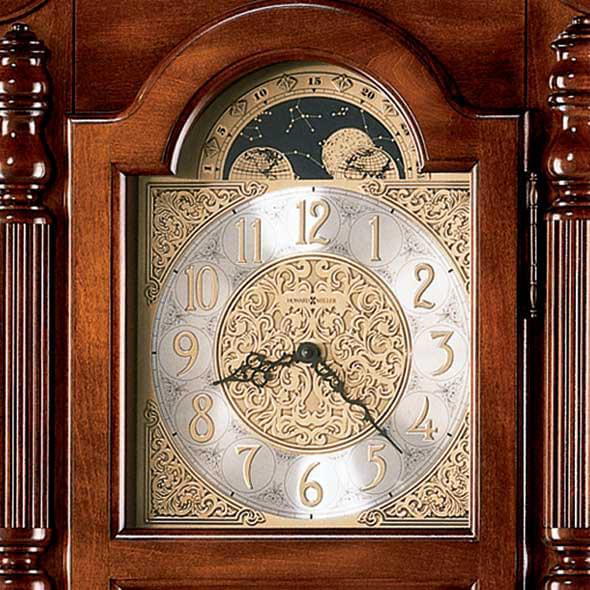 Brown Howard Miller Grandfather Clock - Image 3
