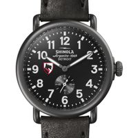 Carnegie Mellon Shinola Watch, The Runwell 41mm Black Dial