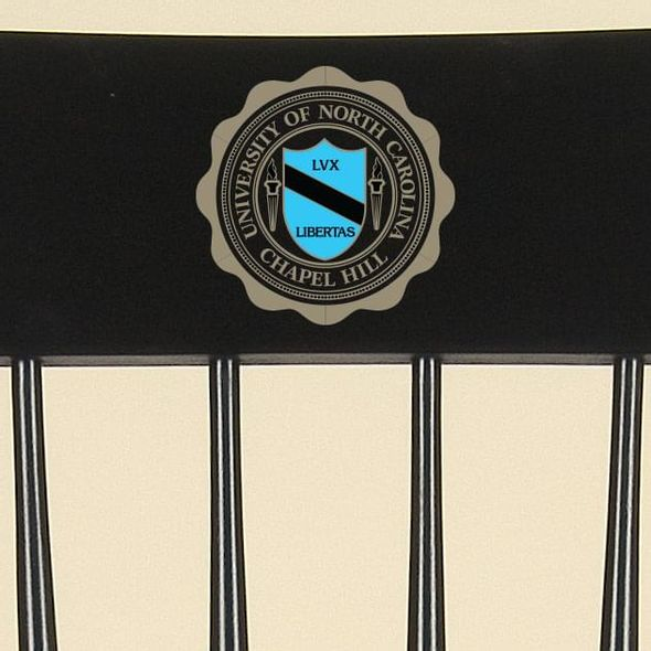 University of North Carolina Captain's Chair by Hitchcock - Image 2