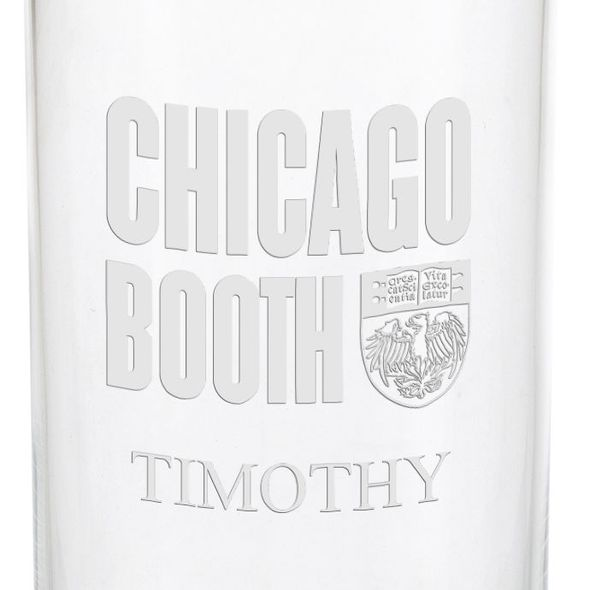 Chicago Booth Iced Beverage Glasses - Set of 2 - Image 3