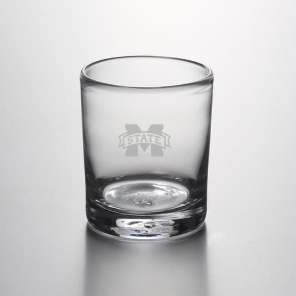 Mississippi State Double Old Fashioned Glass by Simon Pearce