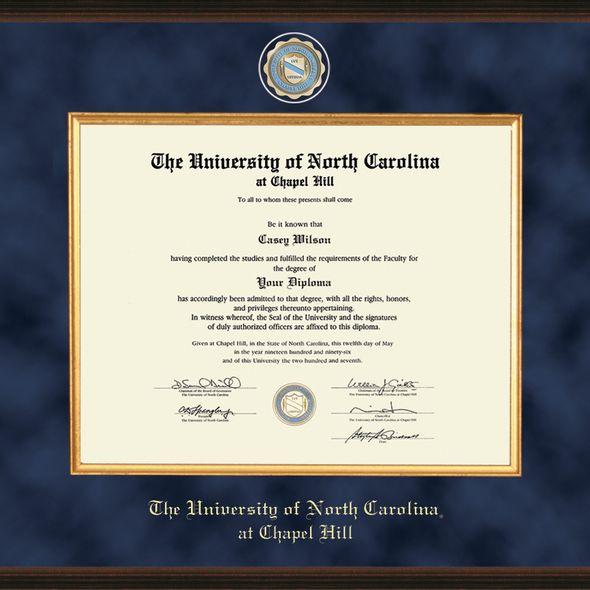 UNC Excelsior Diploma Frame - Image 2