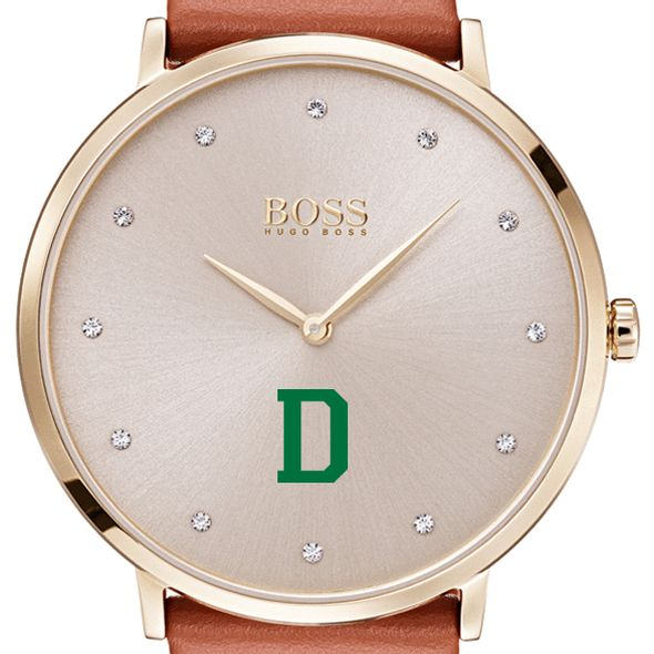 Dartmouth College Women's BOSS Champagne with Leather from M.LaHart