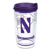 Northwestern 16 oz. Tervis Tumblers - Set of 4