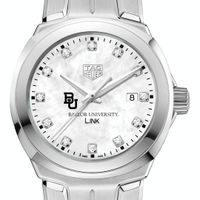 Baylor University TAG Heuer Diamond Dial LINK for Women