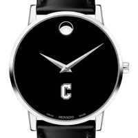 College of Charleston Men's Movado Museum with Leather Strap