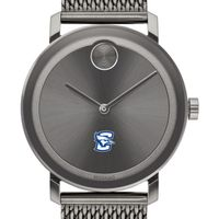 Creighton University Men's Movado BOLD Gunmetal Grey with Mesh Bracelet
