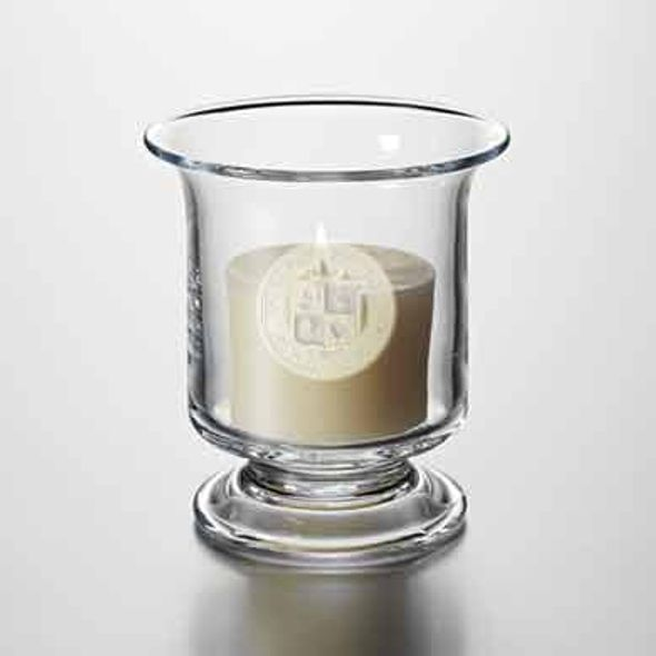 VT Glass Hurricane Candleholder by Simon Pearce